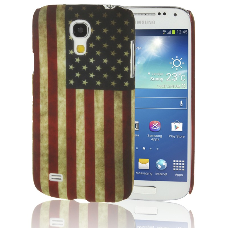 schutzh lle retro usa flagge handyh lle f r samsung galaxy. Black Bedroom Furniture Sets. Home Design Ideas