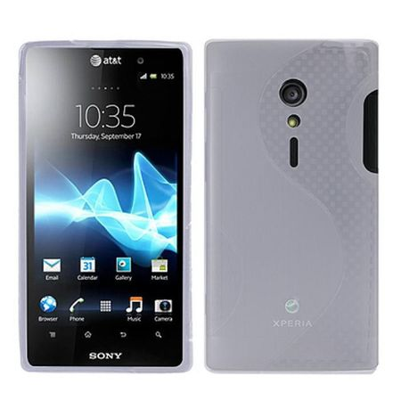 Schutzhülle TPU Case für Handy Sony Xperia Ion LT28i / LT28at transparent