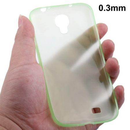 TPU Schutzhülle ultradünn 0,3mm  für Samsung Galaxy S 4 i9500 (grün)
