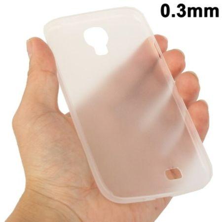 TPU Schutzhülle ultradünn 0,3mm  für Samsung Galaxy S 4 i9500 (transparent)