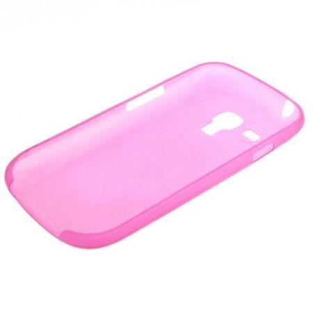 Schutzhülle Case Ultra Dünn 0,3mm für Handy Samsung Galaxy S3 mini i8190 / i8195 / i8200 Pink Transparent – Bild 2