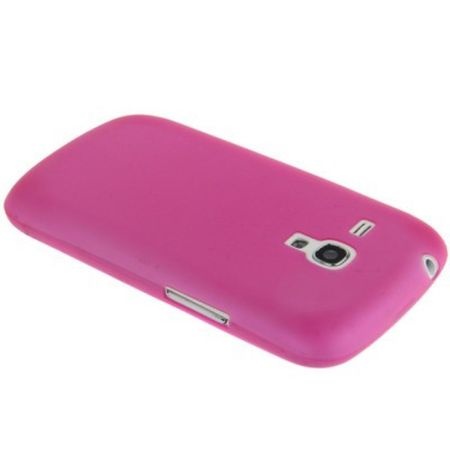 Schutzhülle Case Ultra Dünn 0,3mm für Handy Samsung Galaxy S3 mini i8190 / i8195 / i8200 Pink Transparent – Bild 4