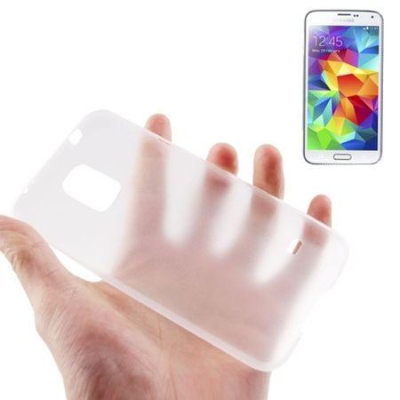 Schutzhülle Case Ultra Dünn 0,3mm für Handy Samsung Galaxy S5 / S5 Neo Transparent