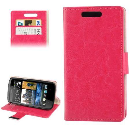 Handyhülle Tasche für HTC Desire 500 pink