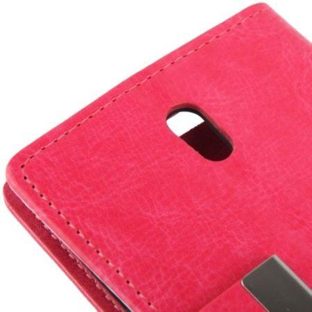 Handyhülle Tasche für HTC Desire 500 pink – Bild 4