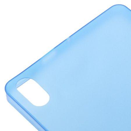 Schutzhülle Case Ultra Dünn 0,3mm für Handy Huawei Ascend P6 Blau Transparent – Bild 3