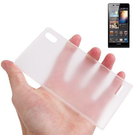 Schutzhülle Case Ultra Dünn 0,3mm für Handy Huawei Ascend P6 Transparent – Bild 1