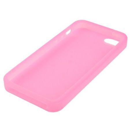 Schutzhülle Silikon Hülle für Handy iPhone 5 & 5s Rosa – Bild 3