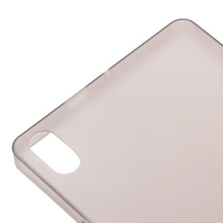 Schutzhülle Case Ultra Dünn 0,3mm für Handy Huawei Ascend P6 Grau Transparent – Bild 3