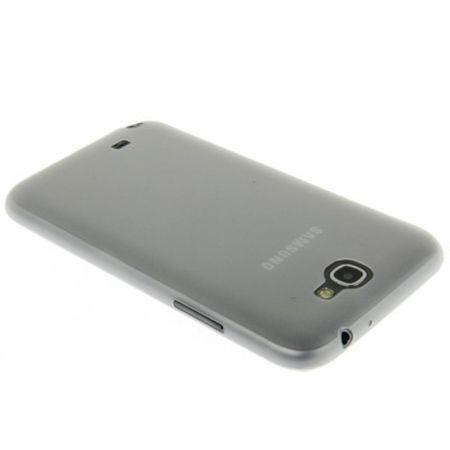 Schutzhülle Case Ultra Dünn 0,3mm für Handy Samsung Galaxy Note 2 N7100 Transparent