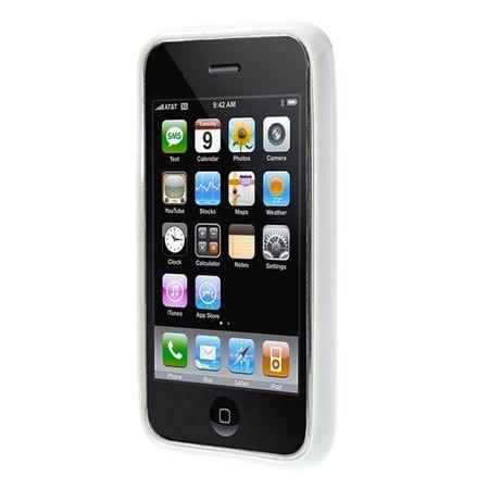 Schutzhülle für Handy Apple iPhone 3 3G 3GS weiß/schwarz – Bild 3