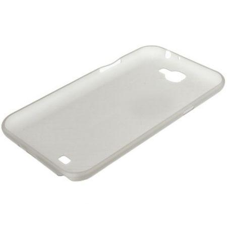 Schutzhülle Case Ultra Dünn 0,3mm für Handy Samsung Galaxy Note 2 N7100 / N7105 Grau Transparent