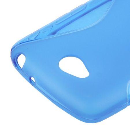 Handyhülle S Line TPU Tasche für LG L70 / Dual D325 Blau – Bild 3