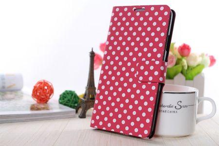 Schutzhülle Handytasche (Flip Quer) für Handy Samsung Galaxy S5 / S5 Neo pink