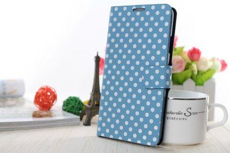 Schutzhülle Handytasche (Flip Quer) für Handy Samsung Galaxy Note 3 N9000 hellblau