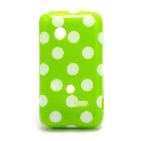 Schutzhülle für Handy Sony Xperia tipo ST21i ST21a grün