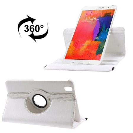 Schutzhülle PU Tablettasche (Flip Quer) für Samsung Galaxy Tab Pro 8.4 / T320 Weiß