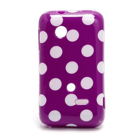 Schutzhülle für Handy Sony Xperia tipo ST21i ST21a Lila / Violett