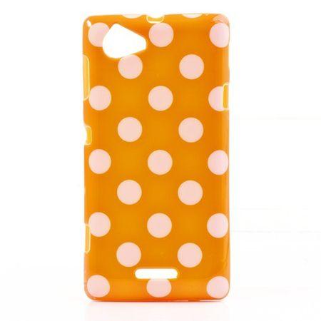 Schutzhülle für Handy Sony Xperia L S36h Orange