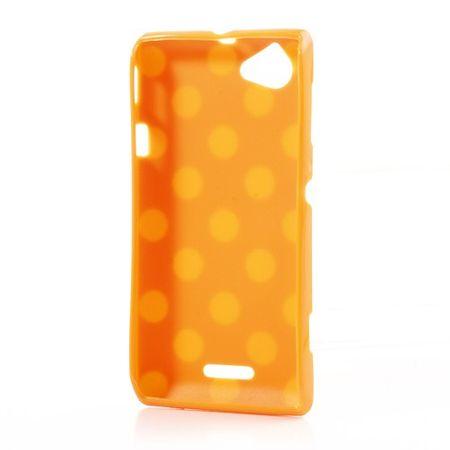 Schutzhülle für Handy Sony Xperia L S36h Orange – Bild 2