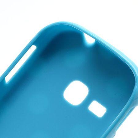 Schutzhülle für Handy Samsung Galaxy Young S6310 Hellblau – Bild 4