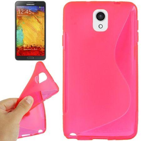Handyhülle TPU-Schutzhülle für Samsung Galaxy Note 3 pink