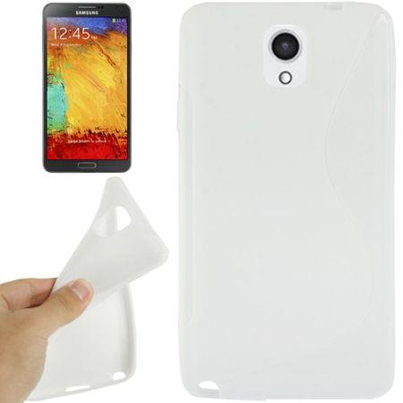 Handyhülle TPU-Schutzhülle für Samsung Galaxy Note 3 weiß