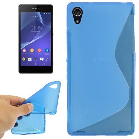 Handyhülle TPU-Schutzhülle für Sony Xperia Z2 blau