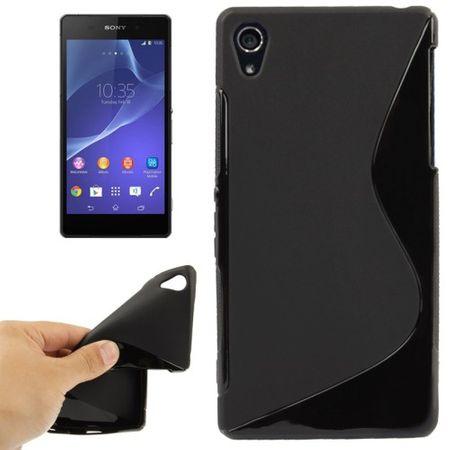 Handyhülle TPU-Schutzhülle für Sony Xperia Z2 schwarz