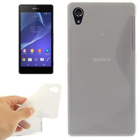 Handyhülle TPU-Schutzhülle für Sony Xperia Z2 transparent
