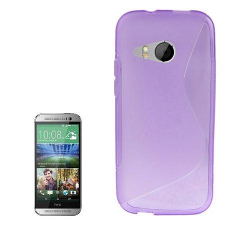 Handyhülle TPU Schutzhülle Case Cover für HTC One mini 2 Lila / Violett