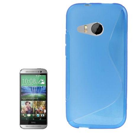 Handyhülle TPU-Schutzhülle für HTC One mini 2 Blau