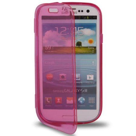 Handyhülle Flip Quer für Handy Samsung Galaxy S3 Pink