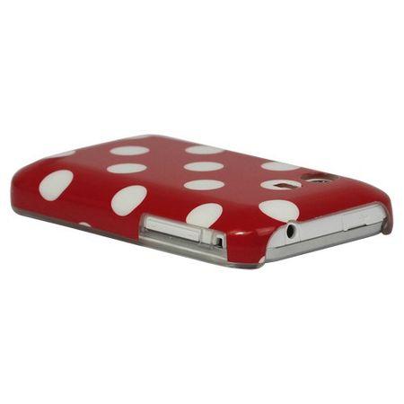 Schutzhülle Hard Case für Handy Samsung Galaxy Y S5360 rot / weiß – Bild 3