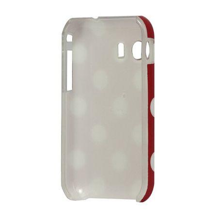Schutzhülle Hard Case für Handy Samsung Galaxy Y S5360 rot / weiß – Bild 4