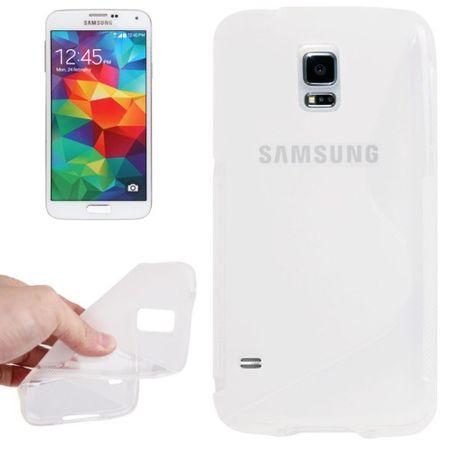 Schutzhülle TPU Case Hülle für Handy Samsung Galaxy S5 mini transparent