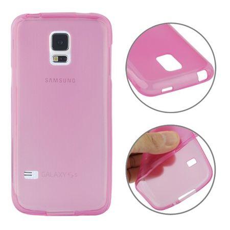 Handyhülle TPU Case für Samsung Galaxy S5 mini Rosa