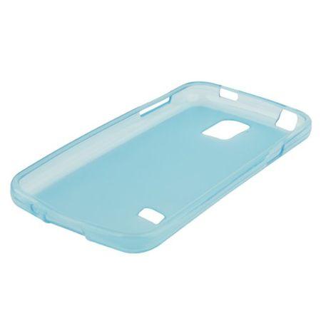 Handyhülle TPU Case für Samsung Galaxy S5 mini Hellblau – Bild 3