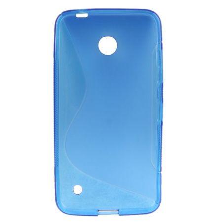 Schutzhülle TPU Case für Handy Nokia Lumia 630 635 blau – Bild 3