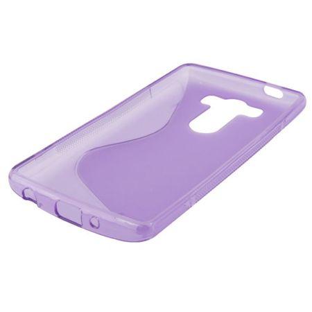 Schutzhülle TPU Case Hülle für Handy LG G3 mini Lila / Violett – Bild 3