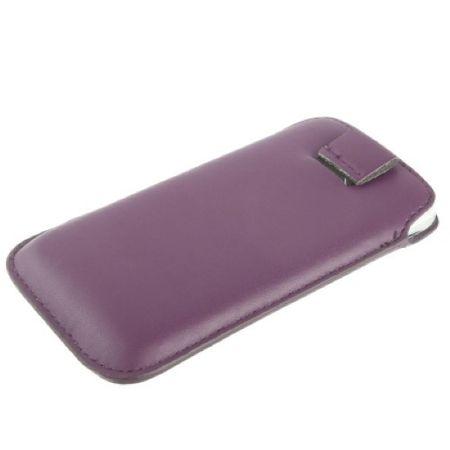 Handyhülle Tasche Slide Hülle Lila / Violett – Bild 3