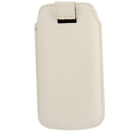 Handyhülle Tasche Slide Hülle Weiß