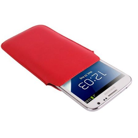 Handyhülle Tasche Slide Hülle Rot – Bild 2