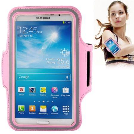 Tasche Armband für Samsung Galaxy Mega 6.3 i9200 Rosa