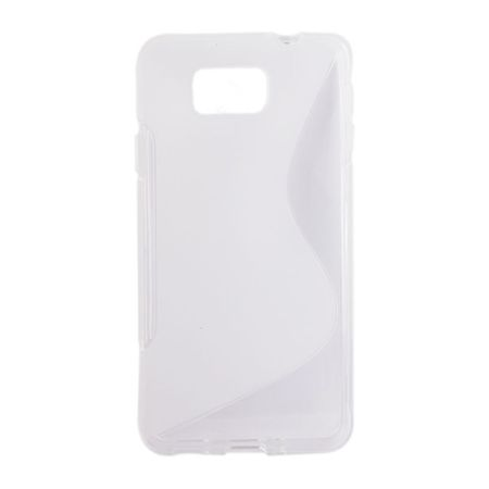 Handyhülle TPU-Schutzhülle für Samsung Galaxy Alpha G850F transparent