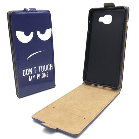Handyhülle Tasche für Handy Samsung Galaxy A3 2016 Dont Touch my Phone