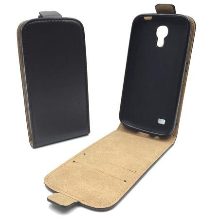Handyhülle Tasche für Handy Samsung Galaxy S4 Mini Schwarz
