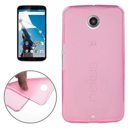 Handyhülle TPU Tasche für Motorola Google Nexus 6 XT1100 Pink
