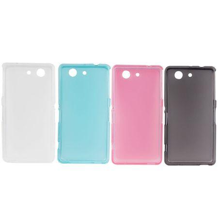 Handyhülle TPU Tasche für Sony Xperia Z3 Compact M55W Blau – Bild 7