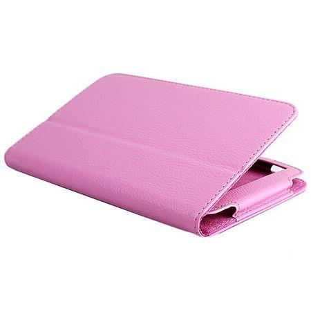 Schutzhülle Tablettasche (Flip Quer) für ASUS Fonepad 7 FE375CG 2014 Rosa – Bild 4